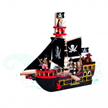 Le Toy Van Barbarossa Pirate Ship