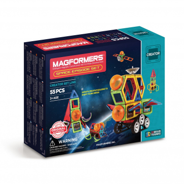 Magformers Space Episode Set 55
