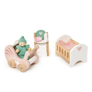 Tender Leaf Dovetail Nursery Set Dolls House Furniture