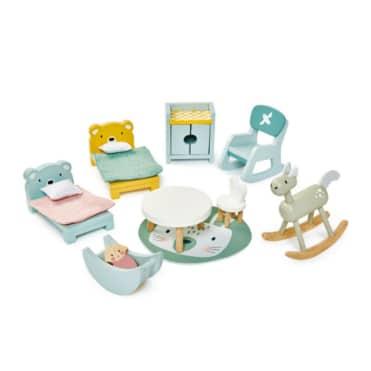 Tender Leaf Dovetail Kids Room Set Dolls House Furniture