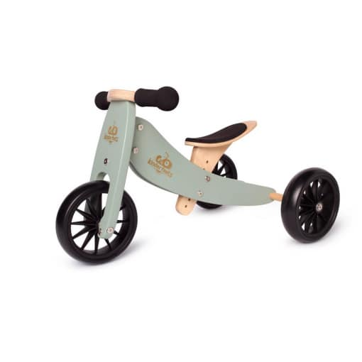 Kinderfeets Tiny Tot Trike 2  in 1 Balance Bike Sage